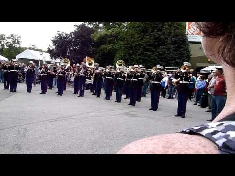 USA Marine band from Hawaii at the Pacific National Exhibition PNE