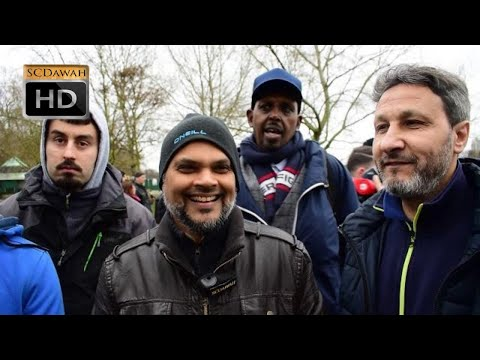 P1 - Who Crucified Him!? Hashim & Christian Visitor  l Speakers corner l Hyde Park