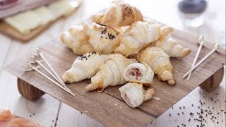 Savoury Mini Croissants - Recipe