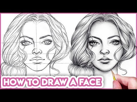 How to Draw Faces for Beginners  Basic Proportions  - YouTube