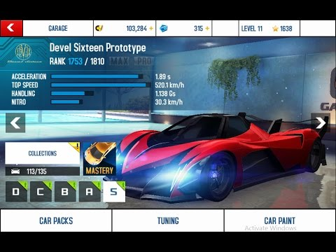 Devel 16 Car >> ASPHALT 8 AIRBORNE - DEVEL SIXTEEN PROTOTYPE TUNNING AND ELITE MAPPING - YouTube