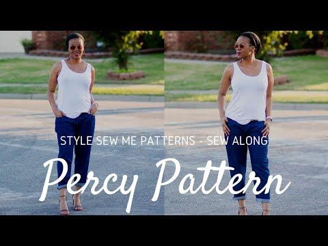 Percy Boyfriend Jeans Sew Along