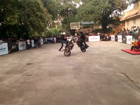 Ghost Ryderz Show at Rajagiri College of Social Sciences (HD)