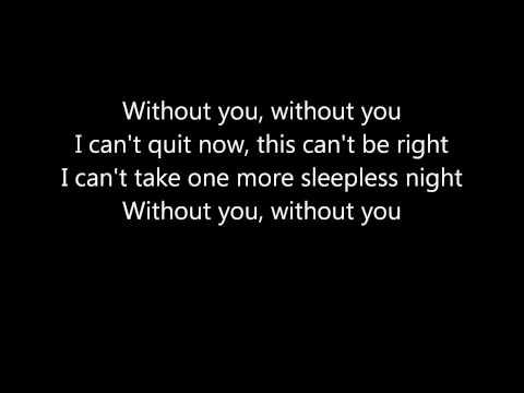 David Guetta - Without you ft.Usher Lyrics