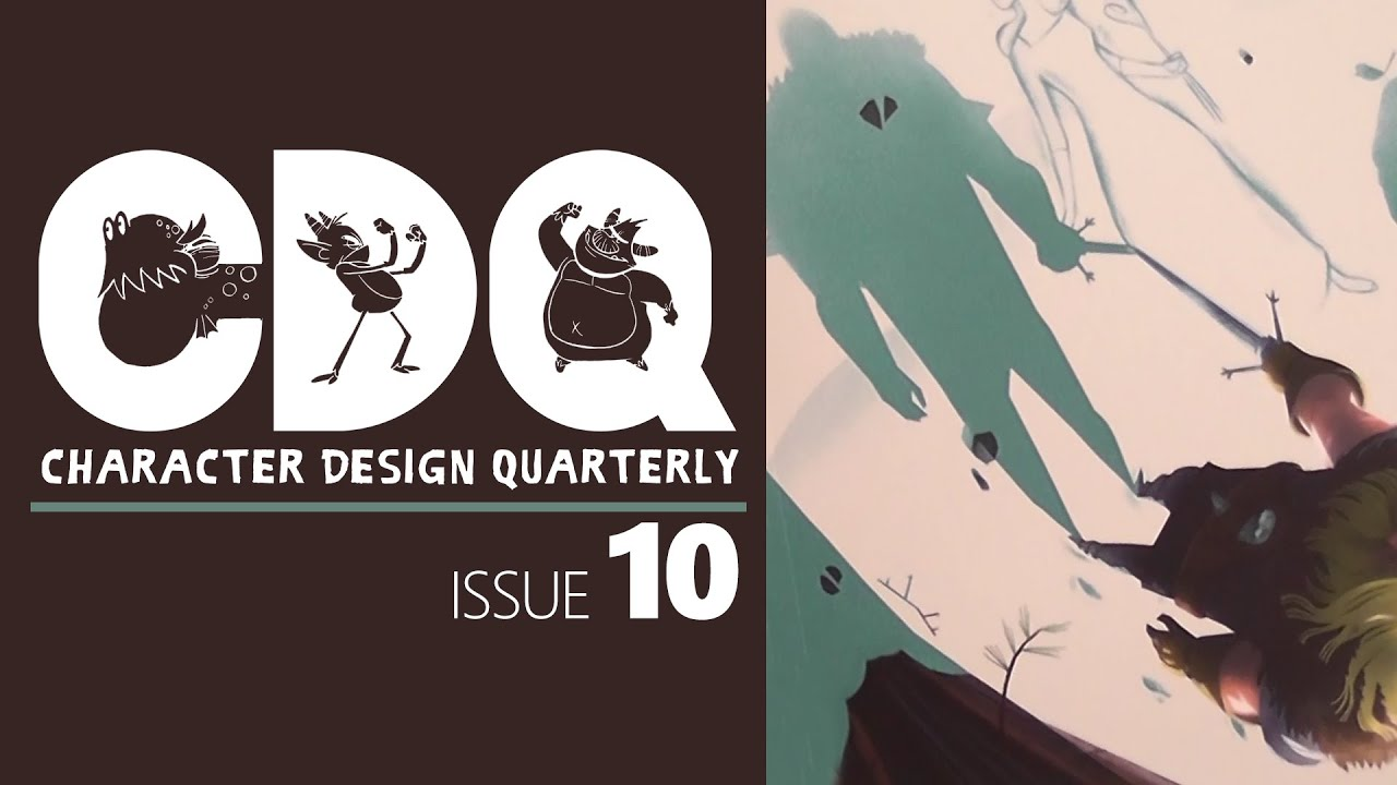Cdq Character Design Quarterly Magazine Issue 10 By 3dtotal