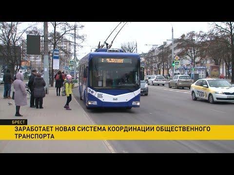 Новая система управления для автобусов, троллейбусов и маршруток появилась в Бресте