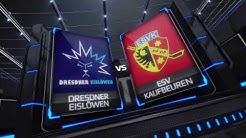 DEL2 Highlights - Playoffs VF Spiel 5 | Dresdner Eislöwen vs. ESV Kaufbeuren