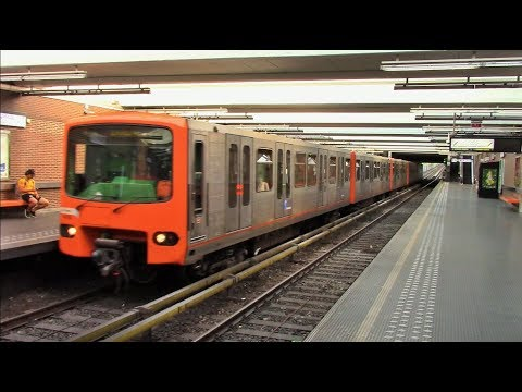 Brussels Metro, Belgium,