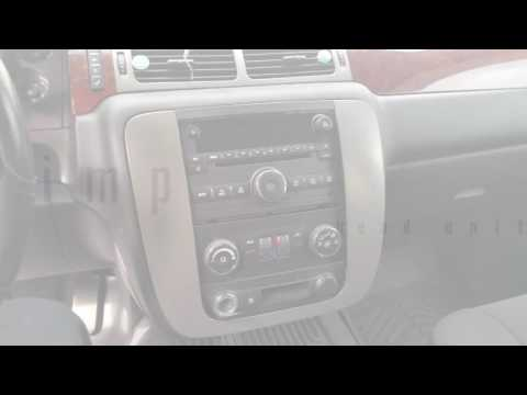 2007-2014 GMC Yukon radio removal