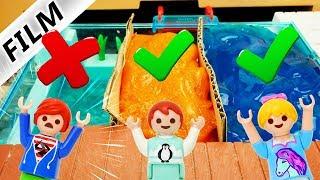 Playmobil Film Deutsch SPRING NICHT IN FALSCHEN POOL! MAMAS VERRÜCKTE CHALLENGE! Familie Vogel