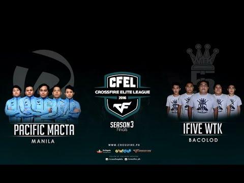 Pacific.Macta vs iFiveWTK – Crossfire Elite League Mindanao Cup Finals – Play Offs
