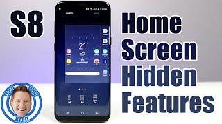 Home Screen Hidden Features for Galaxy S8 & Galaxy S8+