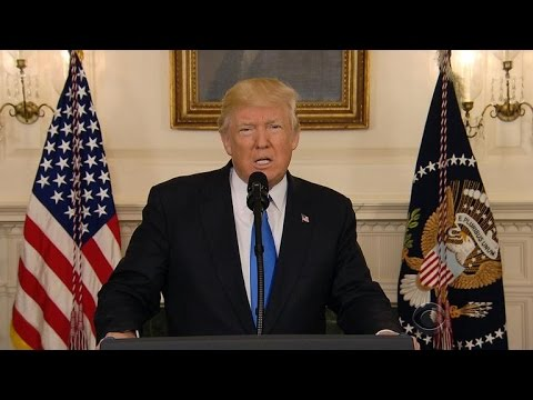 Thumbnail: President Trump delivers message of unity
