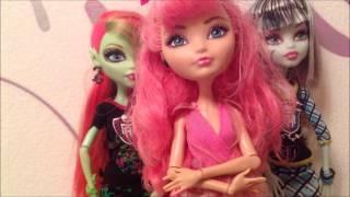 Клип на песню Кристина Си Хочу // Monster High
