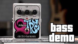 Electro-Harmonix Micro Q-Tron Bass Demo