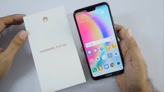 Huawei P20 Lite Unboxing & Overview