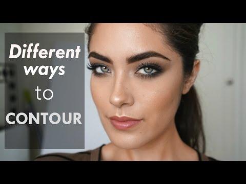 Different Ways To Contour + NEW Anastasia Cream Contour Kit Review | Melissa Alatorre