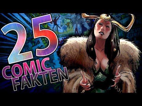 25 verrückte Fakten über Marvel!