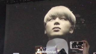 [HD Fancam] BTS Trilogy Part III Wings Tour in Jakarta Part 1 - Opening VCR + NOT TODAY