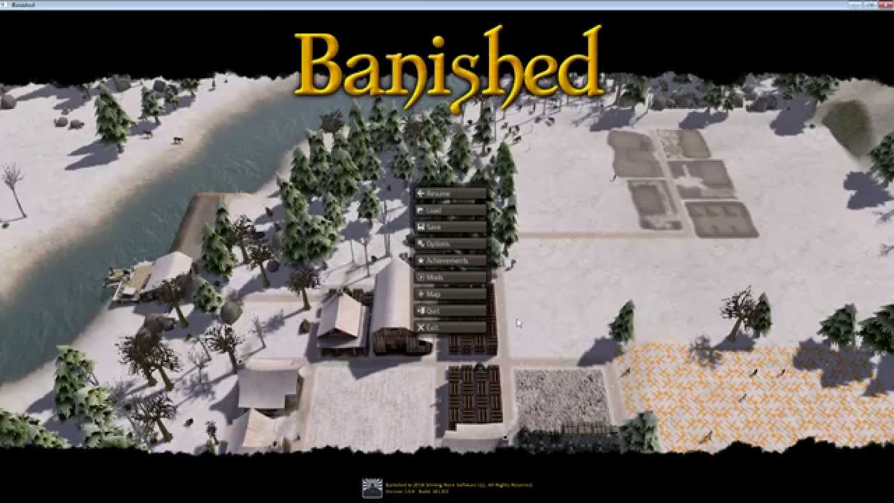 Banished Part Cheating!!! Using mods and memory editing. - YouTube
