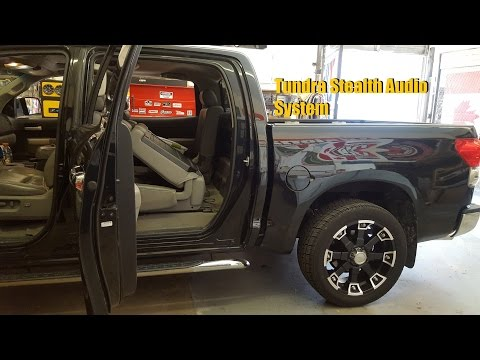 toyota tundra stereo upgrade speakers subwoofer 2007 2008 2009 2010 2011 how to save money and. Black Bedroom Furniture Sets. Home Design Ideas