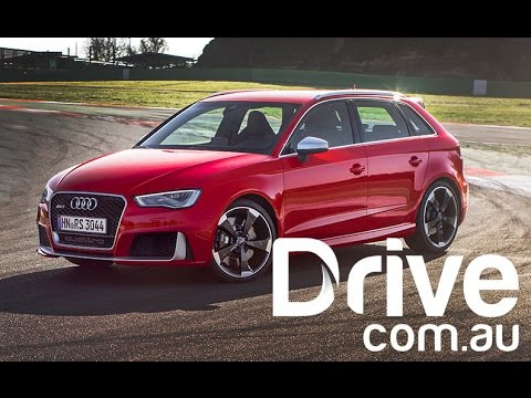 Audi RS3 Sportback First Drive Video Review | Drive.com.au