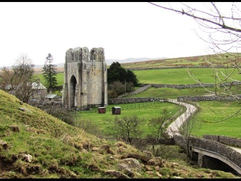 Lake District Country Walk   Shap Abbey from Rosgill via Keld round