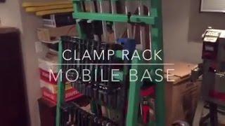 (1) Mobile Clamp Rack