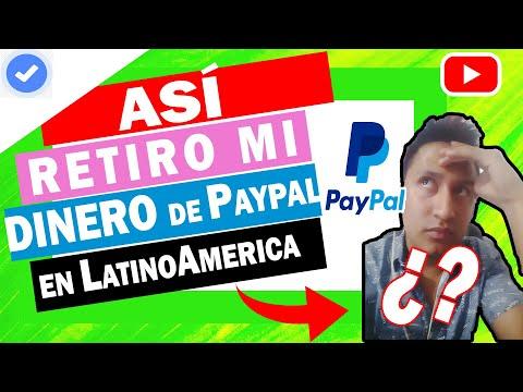 😲 Como RETIRAR Dinero De PayPal En Ecuador 💲