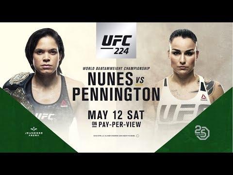 UFC 224: Nunes vs Pennington