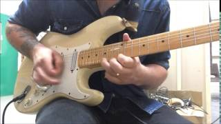 Iron Maiden - The Trooper - Guitar Solo Cover