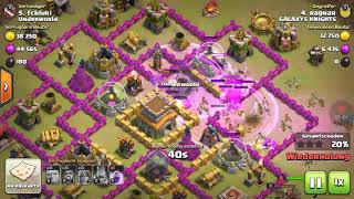 Clash of Clans Clash with Underworld Clankrieg 11 Sieg Teil 2 Deutsch / German