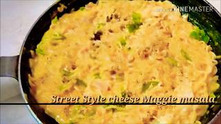 Cheesy Mayonnaise Instant Noodles | King of Cheesy Maggi Masala | Indian Street Food