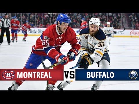 Montreal Canadiens vs Buffalo Sabres   Season Game 48   Highlights (21/1/17)