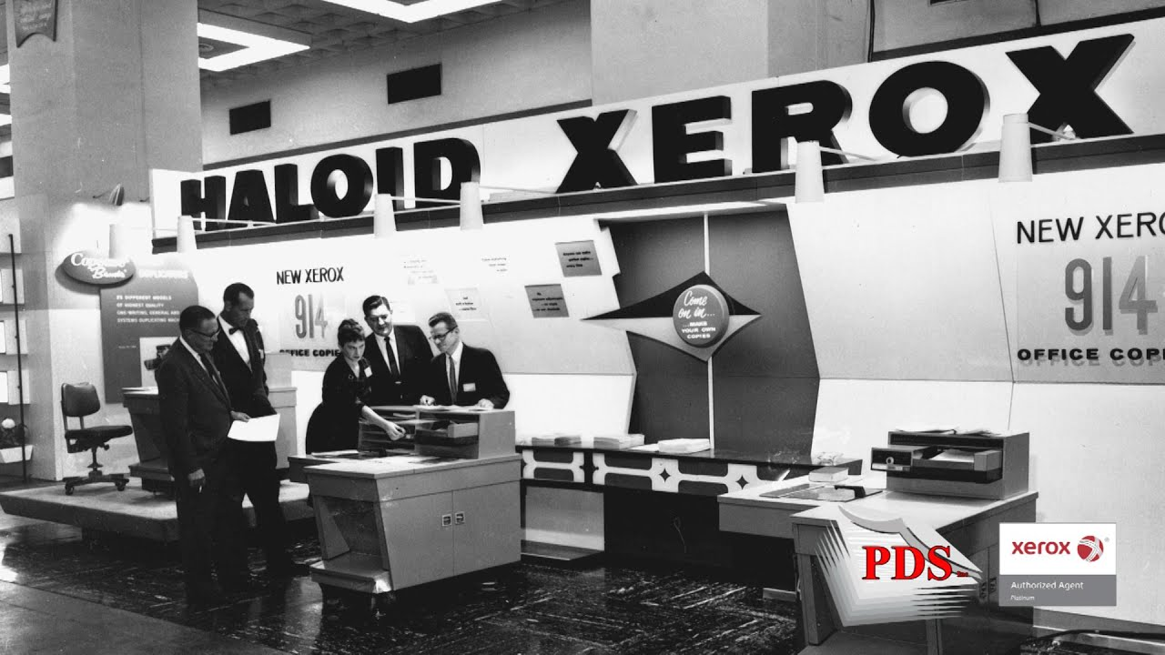 a history of the xerox company Learn about xerox innovation history and how it pioneered the business technology of today.