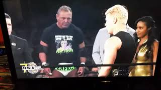 Cody vs Nick Aldis NWA 70 intros