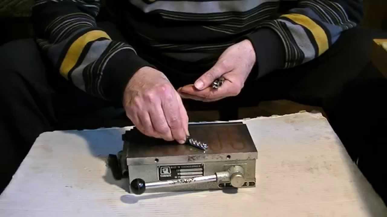 Wspaniały Szlifierka stół magnetyczny - YouTube BO85