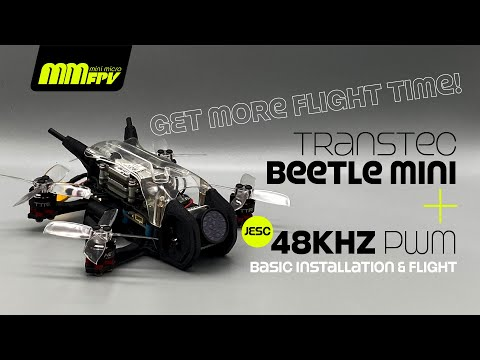 Фото TransTEC Beetle Mini + JESC 48kHz PWM = More Flight Time:)