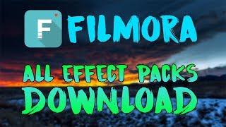 Wondershare Filmora All Effects Download   2018 Updated