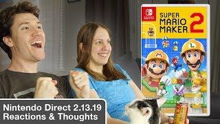 Stephen & Mal React | Nintendo Direct (2.13.2019)