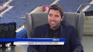 Entrevista DECO (ex-jogador FC Porto) - Universo Porto - Porto Canal - Parte 1