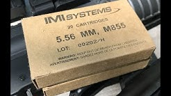 5.56x45mm, 62gr FMJ SS109 / M855 Ball, IMI Systems Review Reupload!