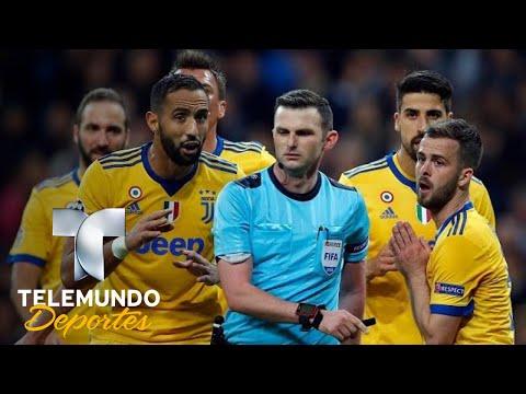 La mujer del árbitro revela el abuso que cometieron contra ellos | Champions League | Telemundo