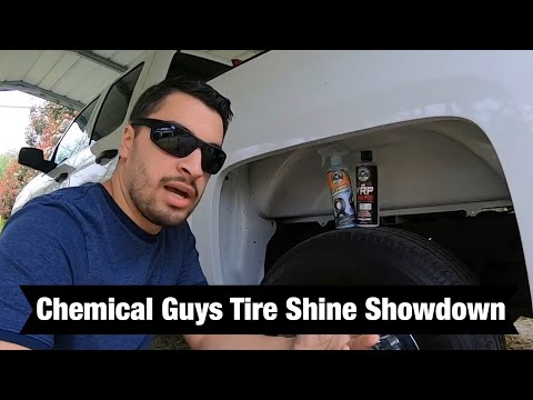 Chemical Guys Tire Kicker Tire Shine Review And Comparison With VRP