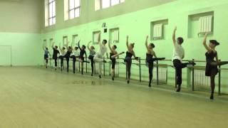 урок классического танца на музыку русских и советских композиторов