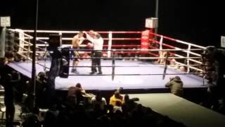 Roberto Santos vs Javier Garcia Roche ultimo asalto Mala Sangre 2014