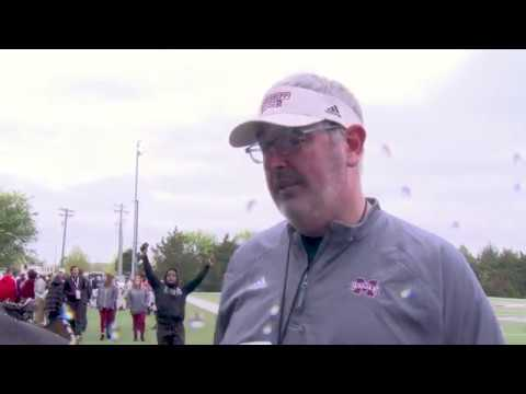Mississippi State Football Post Practice Press Conference - 4/7/18