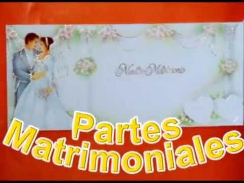 Tarjetas Modelos Partes De Para Matrimonio Civil