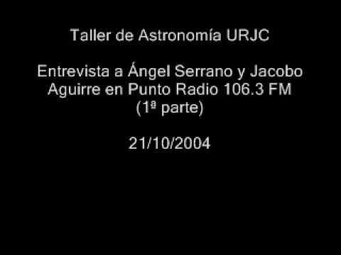 entrevista a ngel serrano snchez de len y jacobo aguirre araujo en punto radio urjc