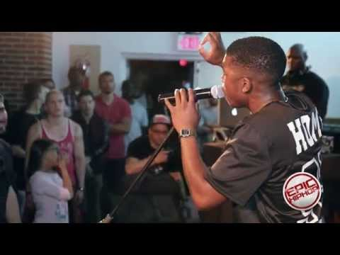 John Givez performing live at Dream Junkies release Concert NYC @JohnGivez @epichiphop1